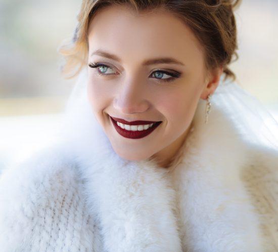 Make up per un Matrimonio d'inverno